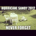 sandy never forget meme