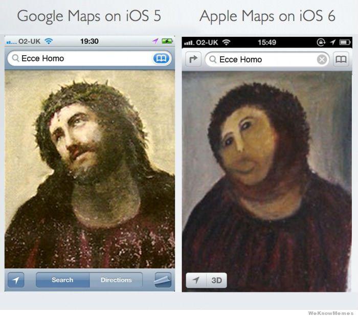 googlemapsvsapplemapsmeme