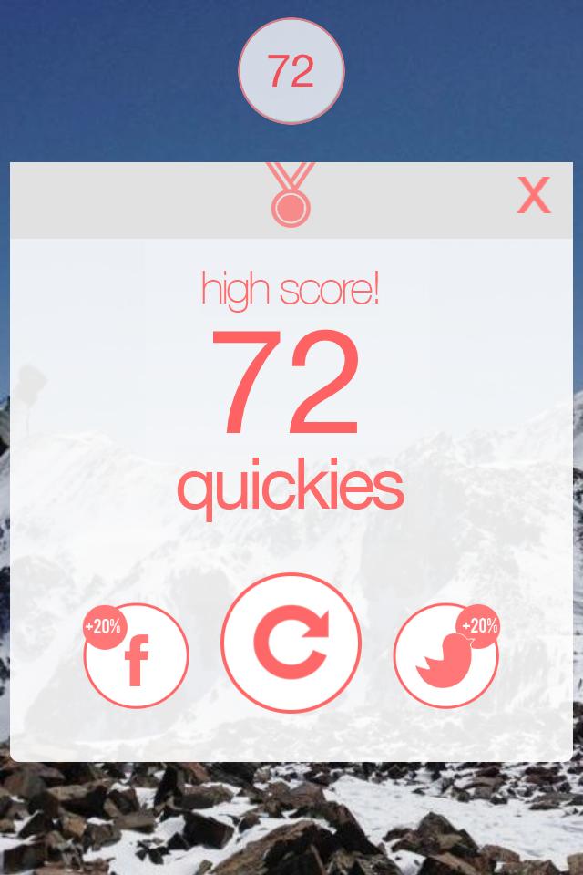 quicki game interface
