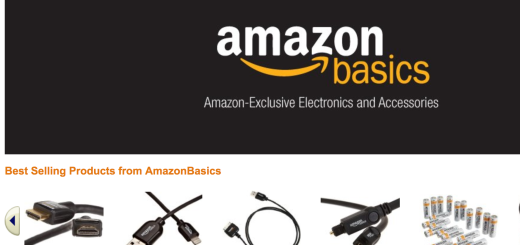 amazon basics homepage