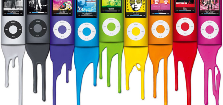 the many colors of mac, ipod, and iPhone, and Steve Jobs's color strategy