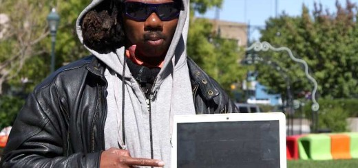 Leo Grand homeless hacker coder inspiring story with his chromebook by samsung