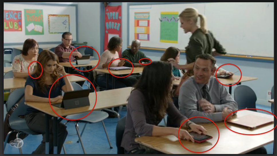 modern family windows product placement
