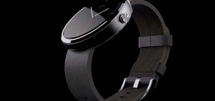 moto 360 smart watch wearable