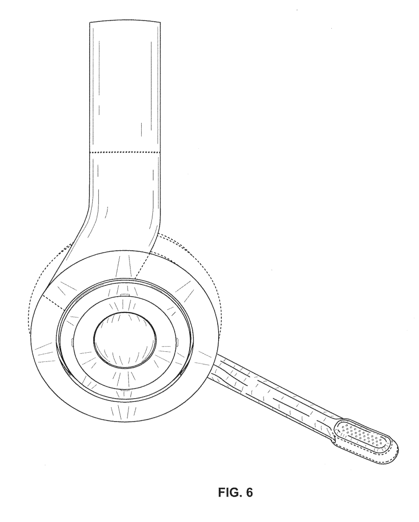 beats Gaming headphones headset patent