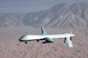 U.S Military Predator drone inflight