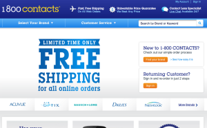 1800 contacts - one of the most annoying email newsletters