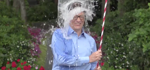 The custom rig bill gates built for the ice bucket challenge