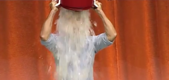jeff bezos takes on ice bucket challenge at amazon