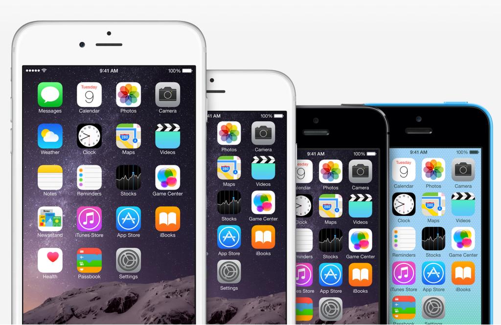 iPhone 6 Plus Iphone 6 iPhone 5S iPhone 5C