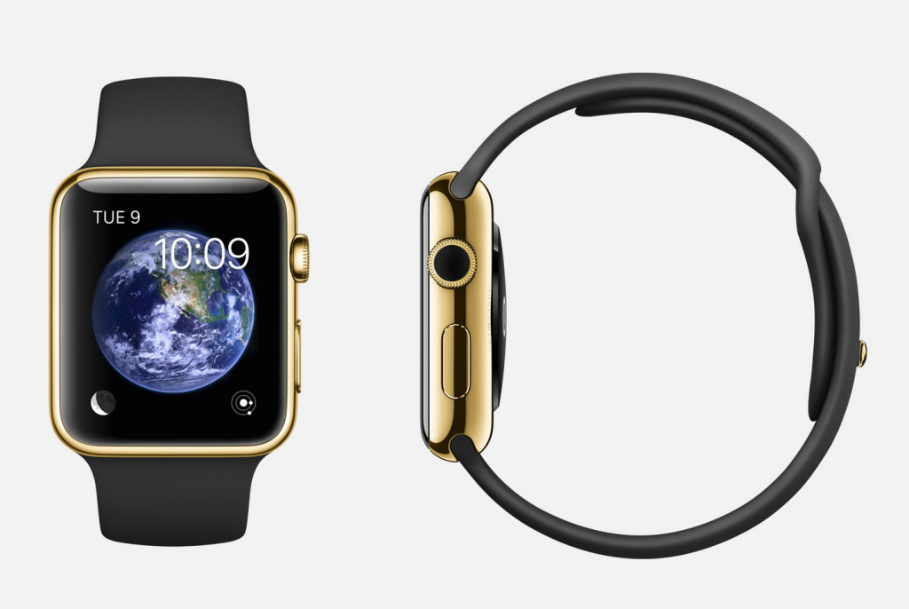 Apple Watch with 18 karot Gold