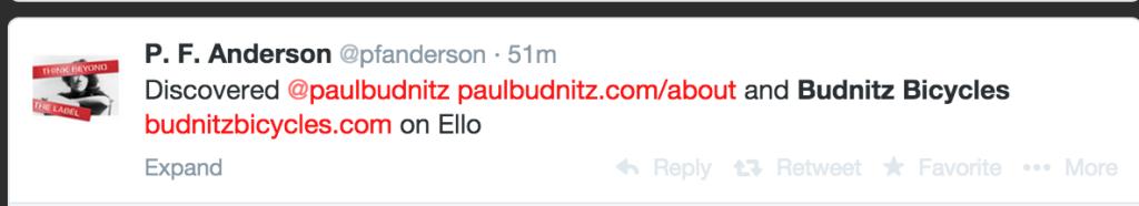 Paul Budnitz Twitter