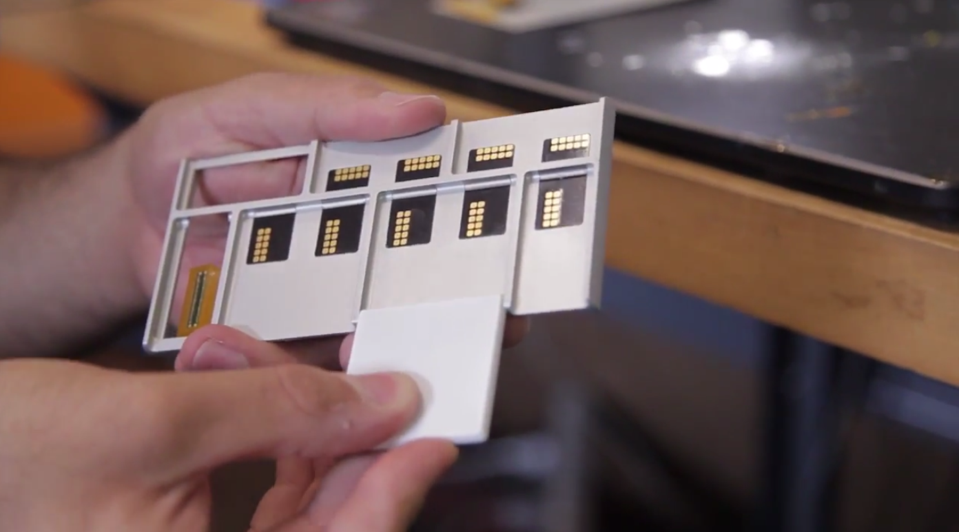 project ARA connectors prototype