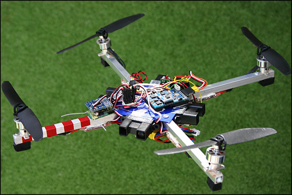 drone controlled by arduino uno