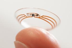Google diabetes contact lens