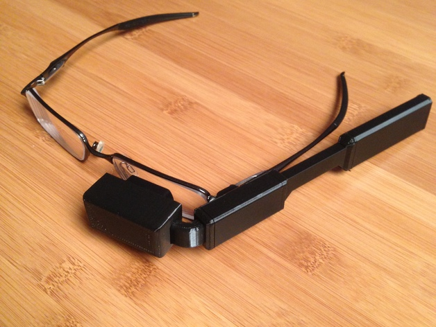 build your own google glass wearables