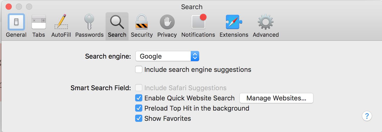 how to fix safari on mac when it says error